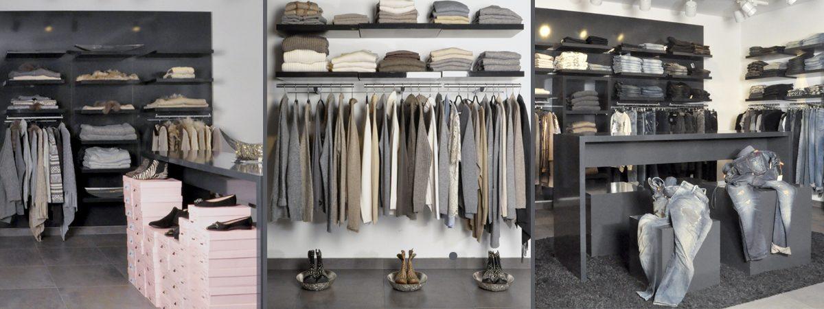 Mode Mosaik Laden Innenansichten